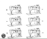 Singer Golden Touch & Sew Sewing Machine 750 756 758