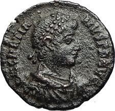 GRATIAN Original 378AD Antioch Authentic Ancient Roman Coin Rome as Roma i67582