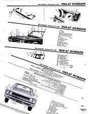 Repair Manuals & Literature for 1967 Plymouth Satellite