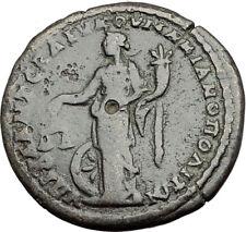 ELAGABALUS 218AD Marcianopolis Authentic Ancient Roman Coin NEMESIS i64938