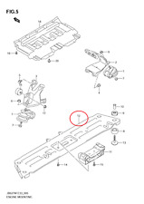 Automatic Transmission Parts for Suzuki Grand Vitara for