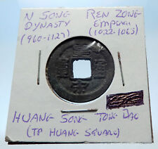 1022AD CHINESE Northern Song Dynasty Antique REN ZONG Cash Coin of CHINA i72703