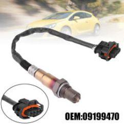 Ford Mondeo Mk4 Radio Wiring Diagram Focus Mk1 Car Lambda Probes Sensors Ebay Replacement O2oxygen Sensor For Opel Vauxhall Corsa C Vectra Astra Agila
