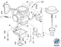 New Carburetor For Arctic Cat ATV 350 366 400 Carb 0470