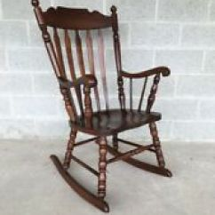 Tell City Chairs Pattern 4526 French Bedroom Chair Nz In Antique 1950 Now Ebay 49 Rumford Solid Maple Arrow Back Rocking Rocker