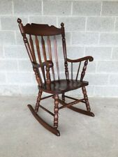 tell city chairs pattern 4526 coalesse kart chair in antique 1950 now ebay 49 rumford solid maple arrow back rocking rocker
