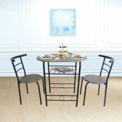 Round Table And Chairs Set Chair Cover Alternatives Wedding Sets Ebay 2