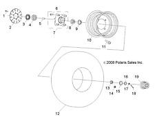 ATV, Side-by-Side & UTV Discs, Calipers & Hardware for