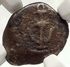 Jewish King HEROD the GREAT JESUS CHRIST BIRTH Biblical Ancient Coin NGC i69595