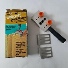 Wolfcraft Dowel Jig Instructions