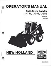 New Holland Heavy Equipment Manuals & Books for New