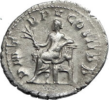 GORDIAN III  240AD Authentic Genuine Silver Ancient Roman Coin APOLLO i67330