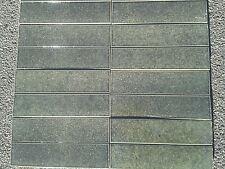 Piastrelle verde per pavimenti per il bricolage e fai da