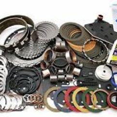 Ford 4r70w Transmission Diagram 95 Honda Accord Engine Rebuild Kits For Mustang Ebay Deluxe Kit 1998 03 Level 2 W Sprag Washers Etc