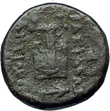 ANTIOCHOS II Theos 261BC Seleukid RARE R1 or R2 Ancient Greek Coin LYRE i68652