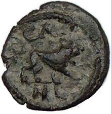 GORDIAN III Authentic Ancient 238AD Roman Coin LEO Zodiac Nemean LION i15583