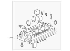 General Motors Car & Truck Battery Cables & Connectors for