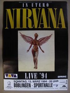 nirvana poster fur musikfans gunstig