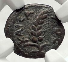 COPONIUS Prefect of Roman JERUSALEM under Augustus 6AD BIBLICAL Coin NGC i70861