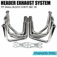 LAKE STYLE HEADERS FOR SBC 265-400 V-8,CHEVY,HOT ROD