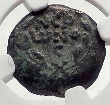 Biblical Jerusalem Saint Paul NERO PORCIUS FESTUS Ancient Roman Coin NGC i70867