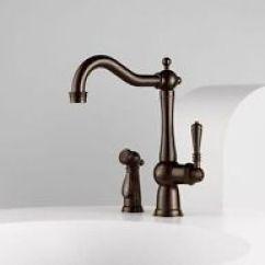 Brizo Kitchen Faucet Professional Appliances Bronze Faucets With 1 Handles Ebay Tresa 61136lf Rb Venetian Single Handle W Side Spray
