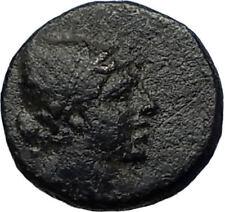 AMISOS PONTUS 105BC Mithradates VI Time Ancient Greek Coin PERSEUS HARPA i68086