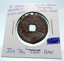 1195AD CHINESE Southern Song Dynasty Genuine NING ZONG Cash Coin of CHINA i75261