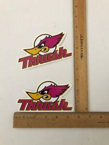 Thrush Logo : thrush, Thrush, Truck, Decals,, Badges, Detailing