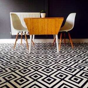 black and white vinyl flooring for sale