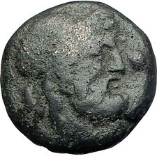 AMPHIPOLIS in MACEDONIA 148BC Rare R2 Ancient Greek Coin POSEIDON CLUB i61561