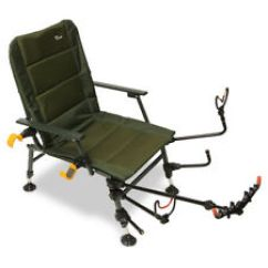 Fishing Chair With Arms White Wicker Chairs Uk Ngt Ebay Feeder Arm Accessories Pack Rod Rests Pole Rest Set