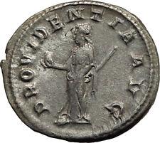 GORDIAN III 238AD Genuine Original Ancient Silver Roman Coin Providentia i65448
