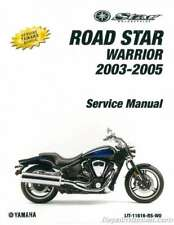 Yamaha Roadstar Motorcycle Service & Repair Manuals for