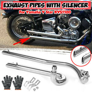 exhaust systems for yamaha v star 1100