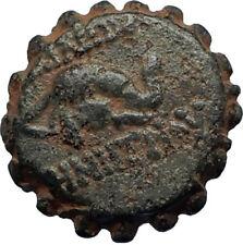 DEMETRIOS I Soter RARE R3 Ancient Seleukid Greek Coin HORSE ELEPHANT i67456