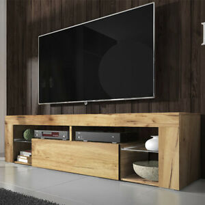 meuble tv led ebay