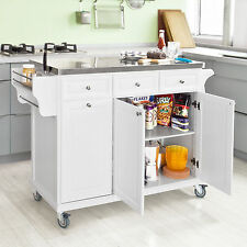 Metal Kitchen Islands & Carts With Flat Pack EBay