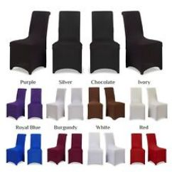 Chair Covers Telford Steel Price In Nepal Sofas Armchairs Suites Ebay For Dining Room Flat Arched Party Wedding Banquet Stretch Fit