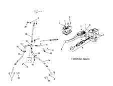 ATV, Side-by-Side & UTV Brake Lines & Hoses for Polaris