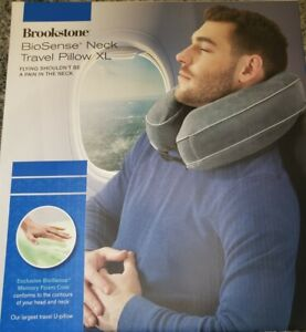 brookstone travel pillows for sale ebay