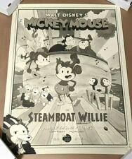 steamboat willie poster ebay