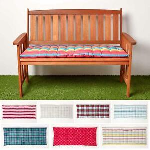 bench striped patio furniture cushions