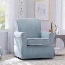 delta avery nursery glider chair grey rentals san diego baby rockers gliders ebay blue