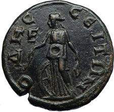 GORDIAN III & TRANQUILLINA Odessos Thrace  Ancient Roman Coin NEMESIS i71015