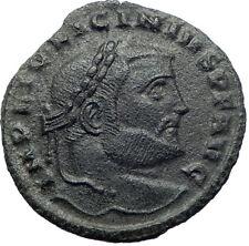 LICINIUS I Constantine I enemy 312AD Ancient Roman Coin ZEUS Jupiter i73282