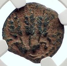Herod AGRIPPA I JERUSALEM Biblical Claudius Time Ancient Greek Coin NGC i70933