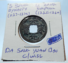 1225AD CHINESE Southern Song Dynasty Genuine LI ZONG Cash Coin of CHINA i72300