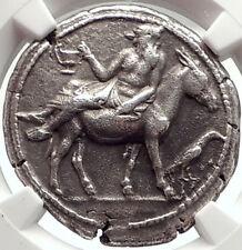 MENDE in MACEDONIA Rare 460BC Ancient Silver Greek Tetradrachm Coin NGC i69560