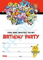 personalised pokemon pikachu birthday
